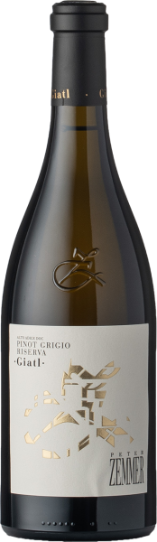 Zemmer Pinot Grigio Riserva Giatl DOC 2018