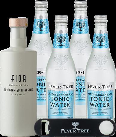 Gin Fior und Fever-Tree Med Tonic 500ml