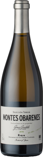 Gomez Cruzado Montes Obarenes Rioja Blanco DOCa 2016