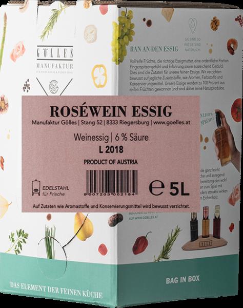 Gölles Roséwein Essig Bag in Box 5L