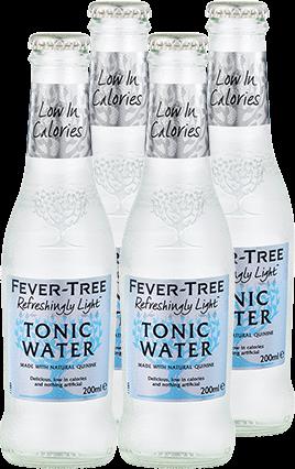 Refreshingly Light Indian Tonic Water 4er Multipack