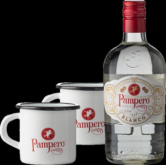 Pampero mit Mugs