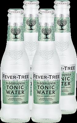 Elderflower Tonic Water 4er Multipack