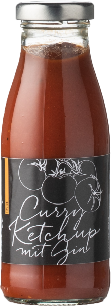 Curry Ketchup mit Gin (Spice)