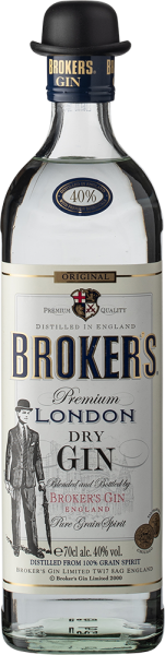 Broker's London Dry Gin 40%vol