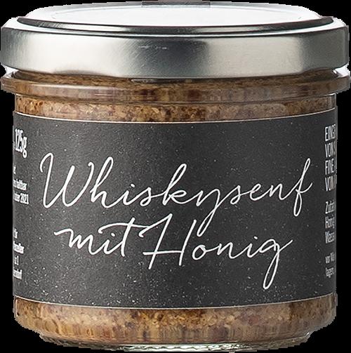 Affenzeller Whiskysenf mit Honig