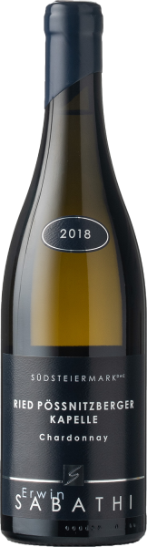 Sabathi Chardonnay Ried Pössnitzberger Kapelle 2018 BIO