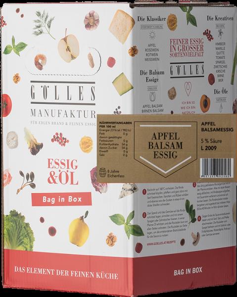 Gölles Apfel Balsamessig Bag in Box 5L