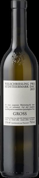 """Gross Welschriesling """"Zukunft"""" Südsteiermark DAC 2019"""