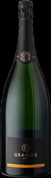 Cattin-Grand C  Crémant d'Alsace Brut MAGNUM
