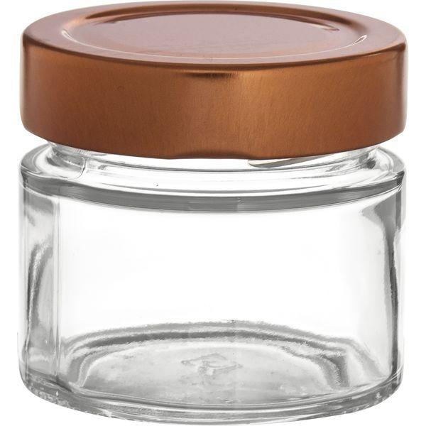 Vorratsglas 12-tlg., Kupfer-Look, Inhalt: 0,105 Liter