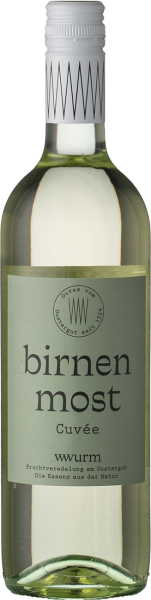 Wurm Birnen Cuvée Most 2019