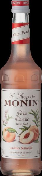 Monin Pfirsich Weiß