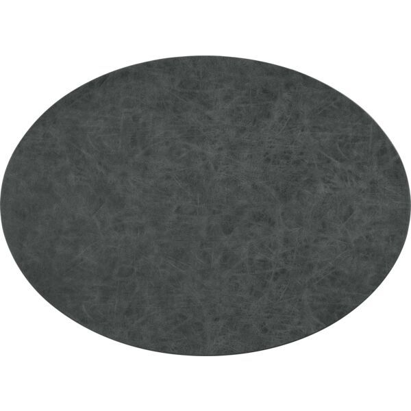 Tischset oval »Truman« schwarz