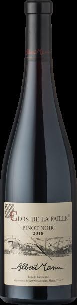 Albert Mann Pinot Noir Clos de la Faille 2018 BIO