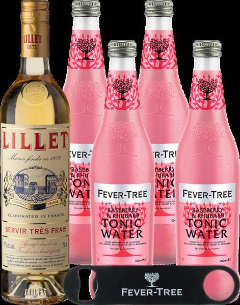 Blanc & Fever-Tree Raspberry & Rhubarb Tonic Water 500ml
