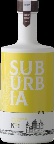 Suburbia Spirits Lemongrass Gin 37,5%