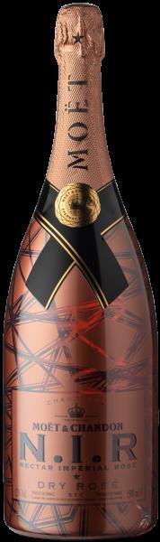 Moet & Chandon Nectar Impérial Rosé (mit Beleuchtung) Magnum