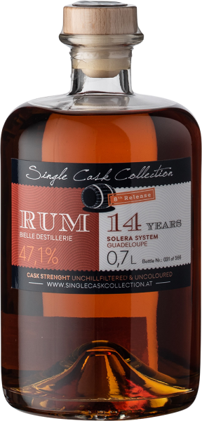 Single Cask Collection Rum 8th Edition Marie Gallant 14 YO