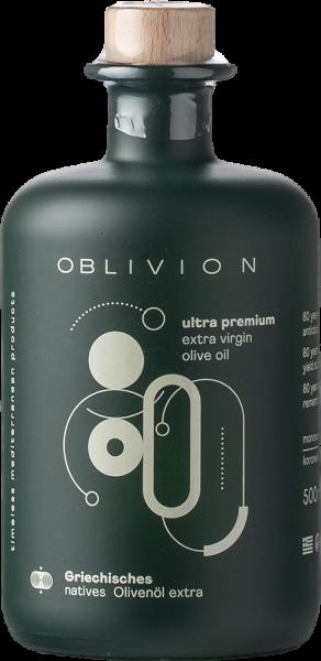 """Oblivion Griechisches Premium Natives Olivenöl Extra """"Premium"""" 2019 0,5 Lt-"""