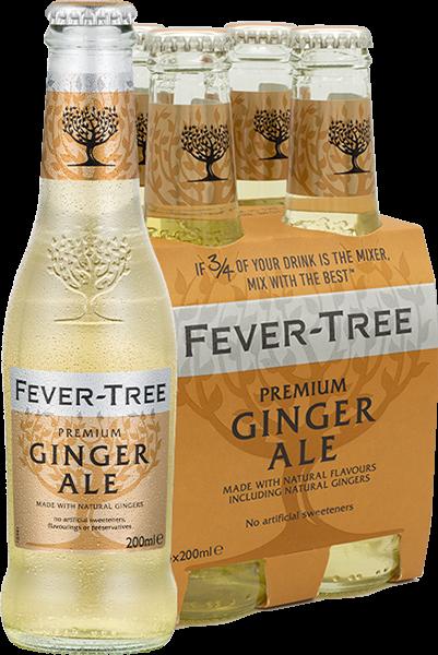 4er Fever-Tree Ginger Ale