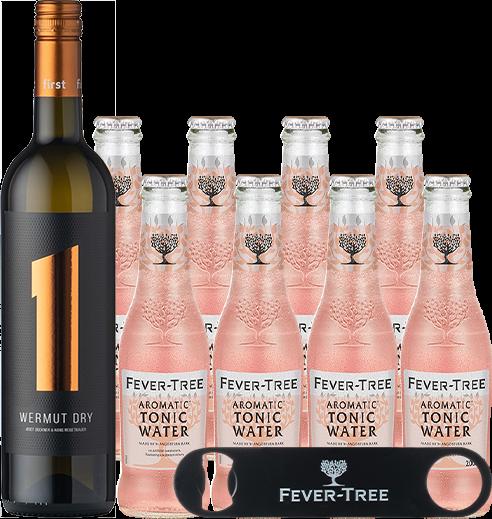 Wermut Dry & Fever-Tree Aromatic Tonic