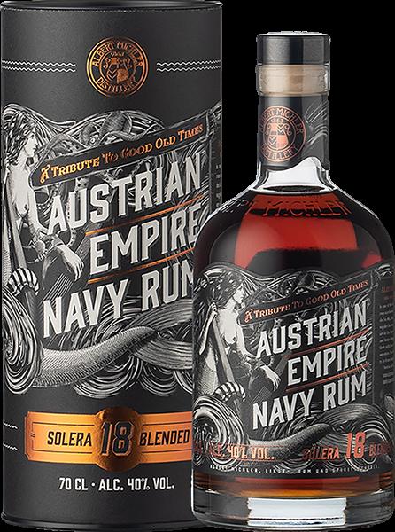 Austrian Empire Navy Rum Solera 18YO 0,7L -