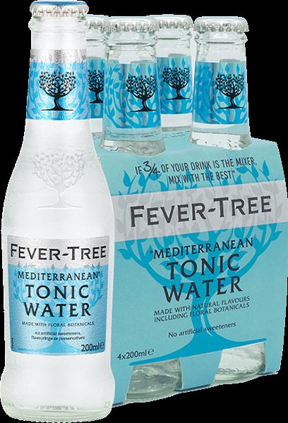 4er Fever-Tree Mediterranean Tonic Water