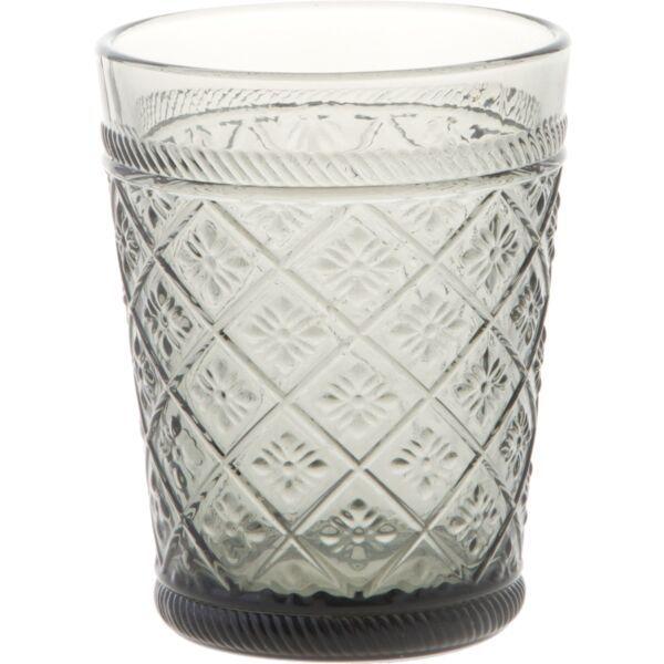TOGNANA »Giotto« Trinkglas, Inhalt: 0,25 Liter, Höhe: 100 mm, ø: 80 mm, grau