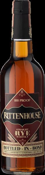 Rittenhouse Straight Rye Whisky 100 Proof