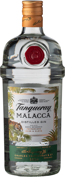 Tanqueray Malacca Distilled Gin Limited Edition 2018