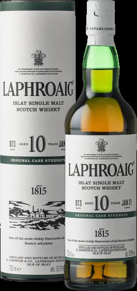 Laphroaig 10 Years Cask Strength 0,7L