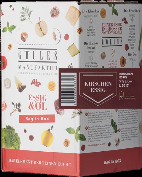 Gölles Kirschen Essig Bag in Box 5L