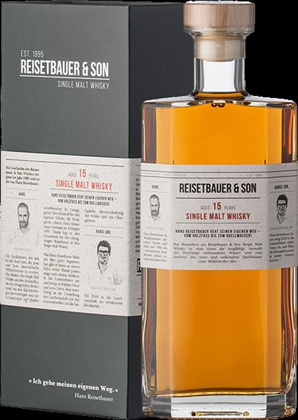 Reisetbauer & Son 15 Years Single Malt Whisky