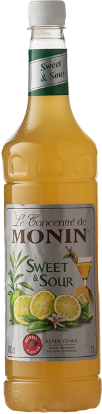 Monin Sweet & Sour MIX PET