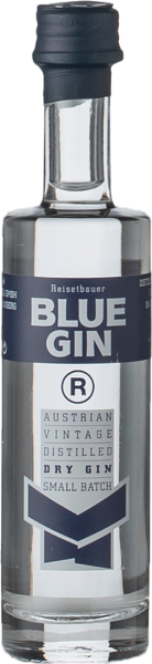 Blue Gin Vintage Miniatur