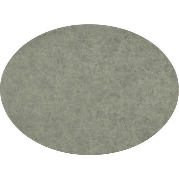 Tischset oval »Truman« anthrazit