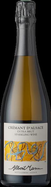 Mann Crémant d'Alsace Extra Brut 2018 BIO