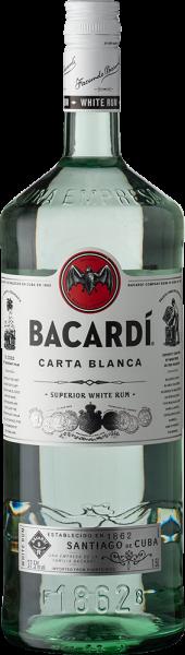 Bacardi Carta Blanca 1,5lt