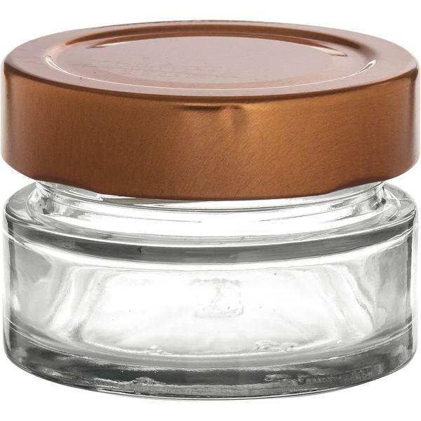 Vorratsglas 12-tlg., Kupfer-Look, Inhalt: 0,067 Liter
