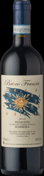Villa Terlina Barbera DOC Bricco Francia 2018 Bio