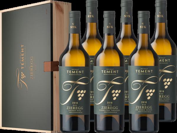 """Tement Sauvignon Blanc Ried Zieregg """"Parzellenkollektion""""  G-STK 2018 BIO"""