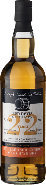 Single Cask Collection Ben Nevis 22yo Fino