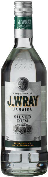 J- Wray Jamaica Rum silver